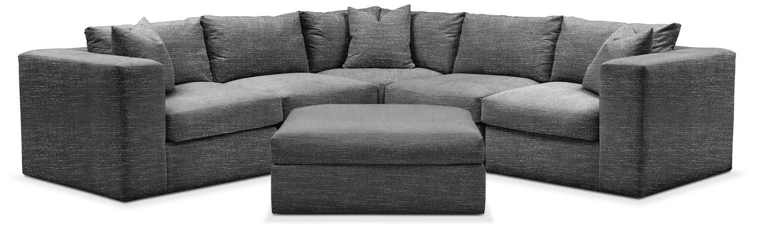 Living Room Furniture - Collin 6-Piece Sectional