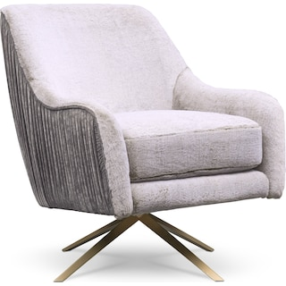Margot Swivel Chair - Gray
