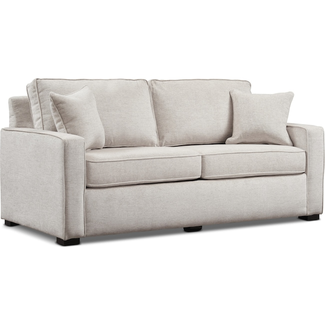 Fine Mayson 78 Full Memory Foam Sleeper Sofa Beige Pdpeps Interior Chair Design Pdpepsorg