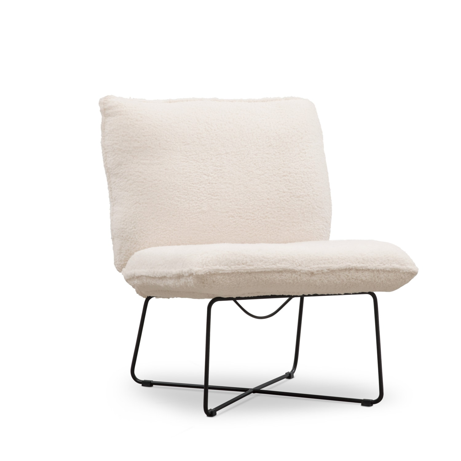 Living Room Furniture - Denali Chair - White