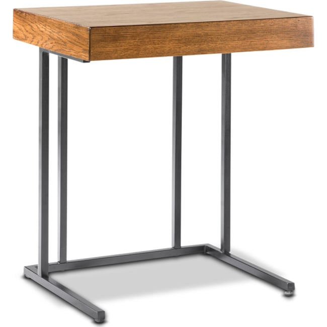 Accent and Occasional Furniture - Pull Up Table - Brown