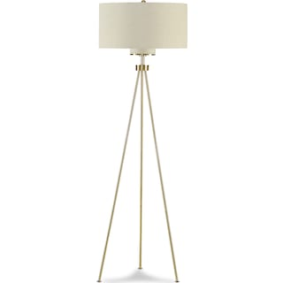 Pacific Tripod Floor Lamp - Brushed Steel