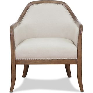 Lily Accent Chair - Beige