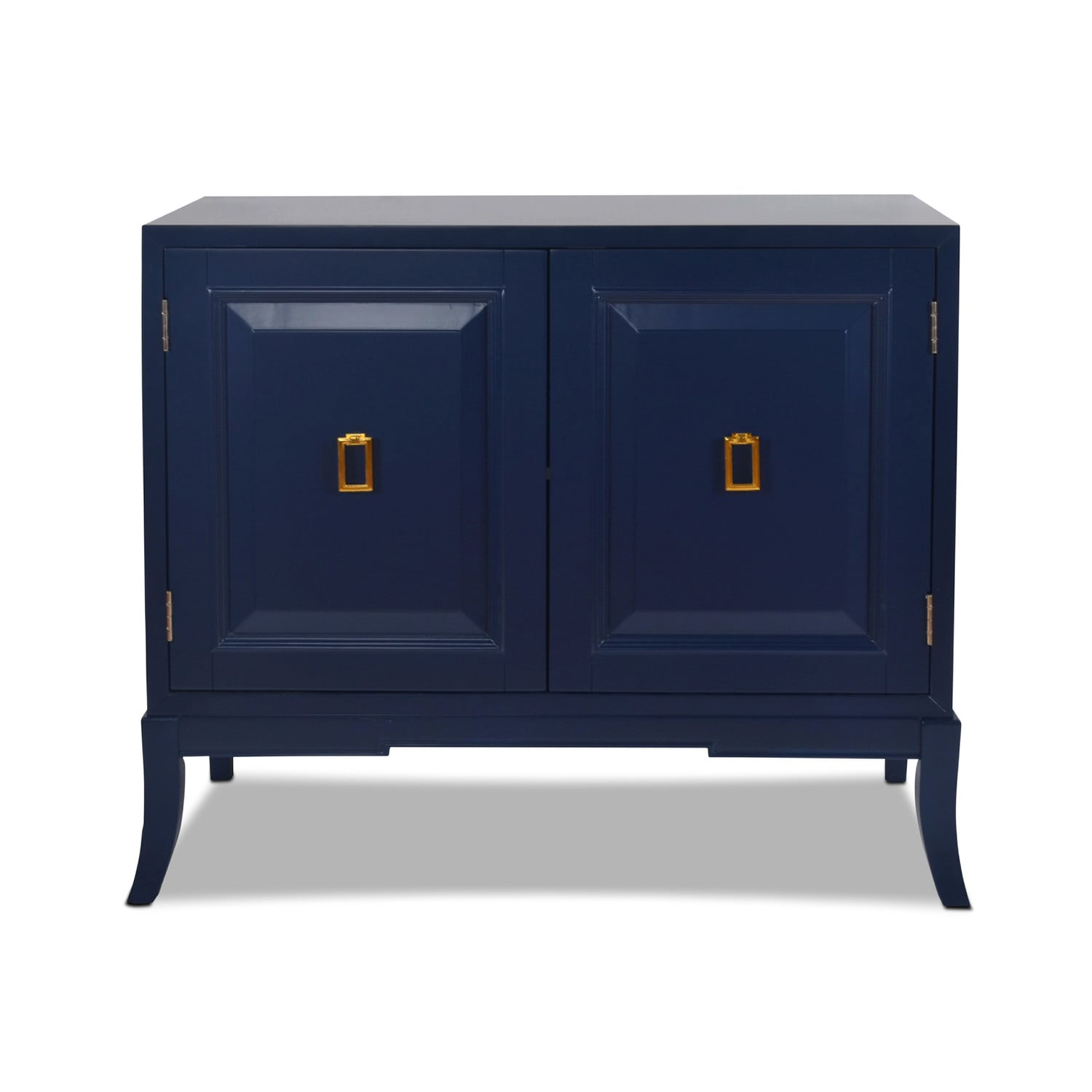 Accent and Occasional Furniture - Berkley Accent Chest - Navy