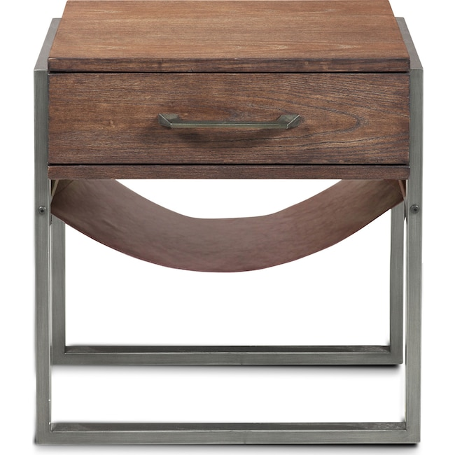 Accent and Occasional Furniture - Clinton Side Table - Acacia Wood