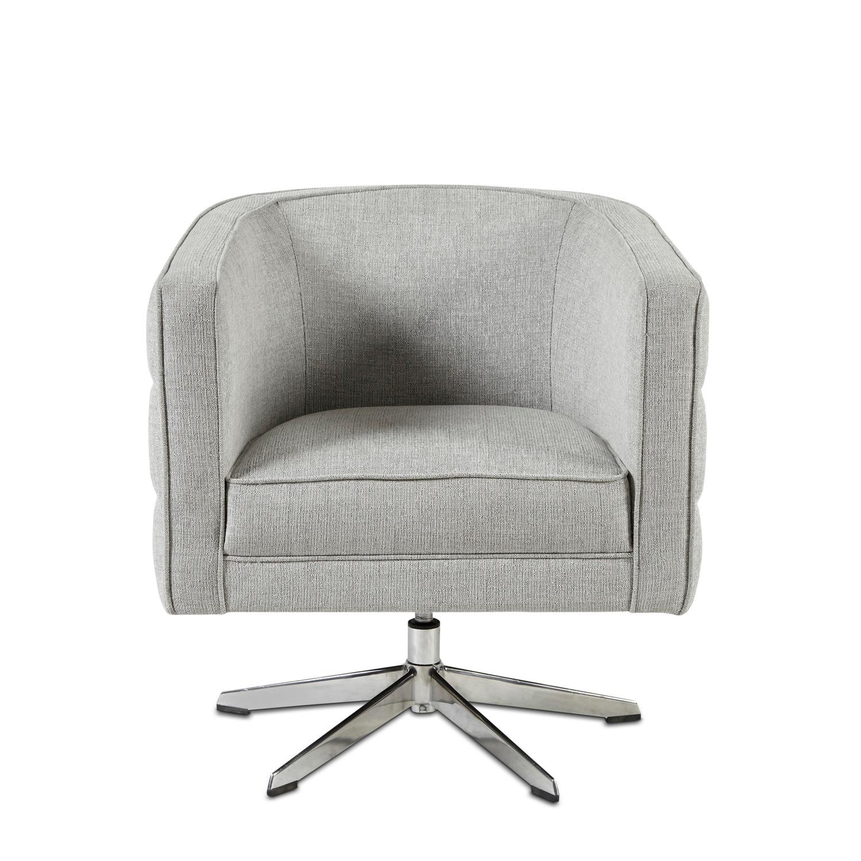 Astounding Albany Swivel Lounge Gray Inzonedesignstudio Interior Chair Design Inzonedesignstudiocom