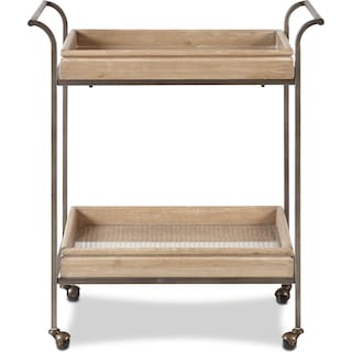 Warren Bar Cart - Light Brown