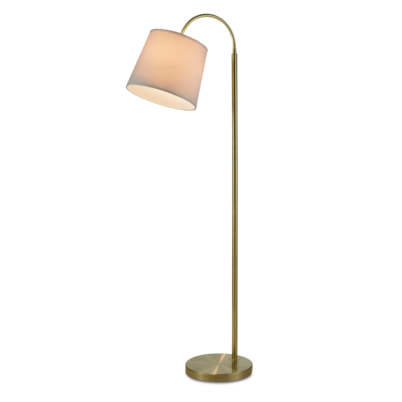 Home Accessories - Monroe Floor Lamp - Gold