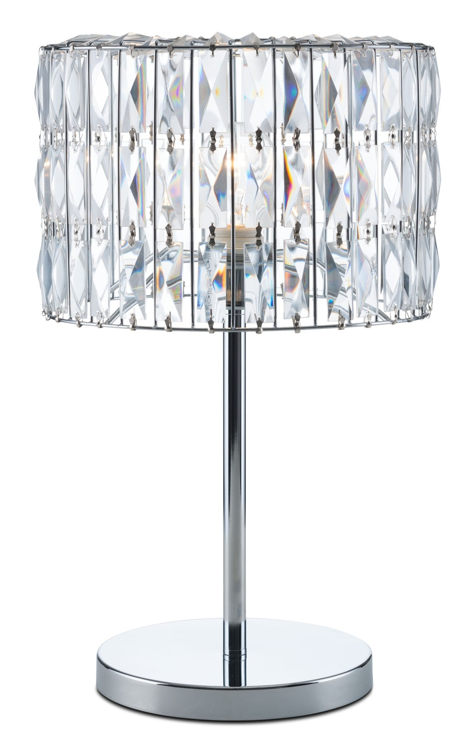 Home Accessories - Glam Table Lamp - Crystal