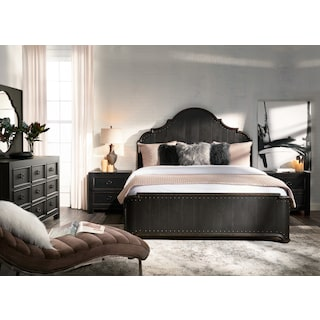 Lennon 5-Piece Queen Bedroom Set - Kettle Black