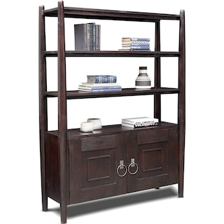Farrah Bookcase - Brown