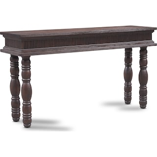 Farrah Sofa Table - Brown