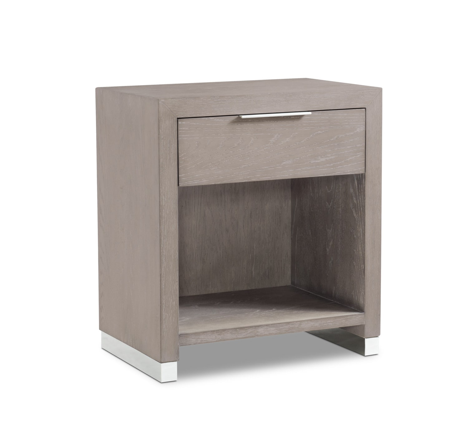 Bedroom Furniture - Zen Nightstand - Urban Gray