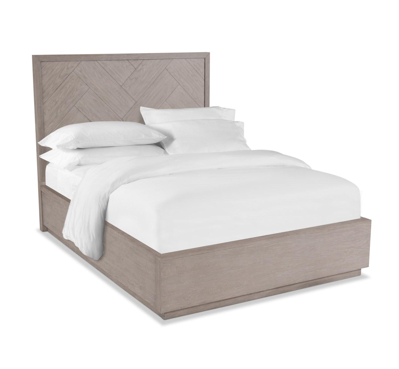 Bedroom Furniture - Zen Queen Bed - Urban Gray