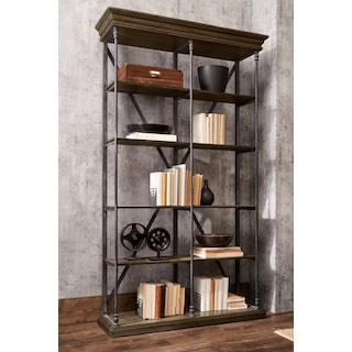 Bedford Double Bookcase