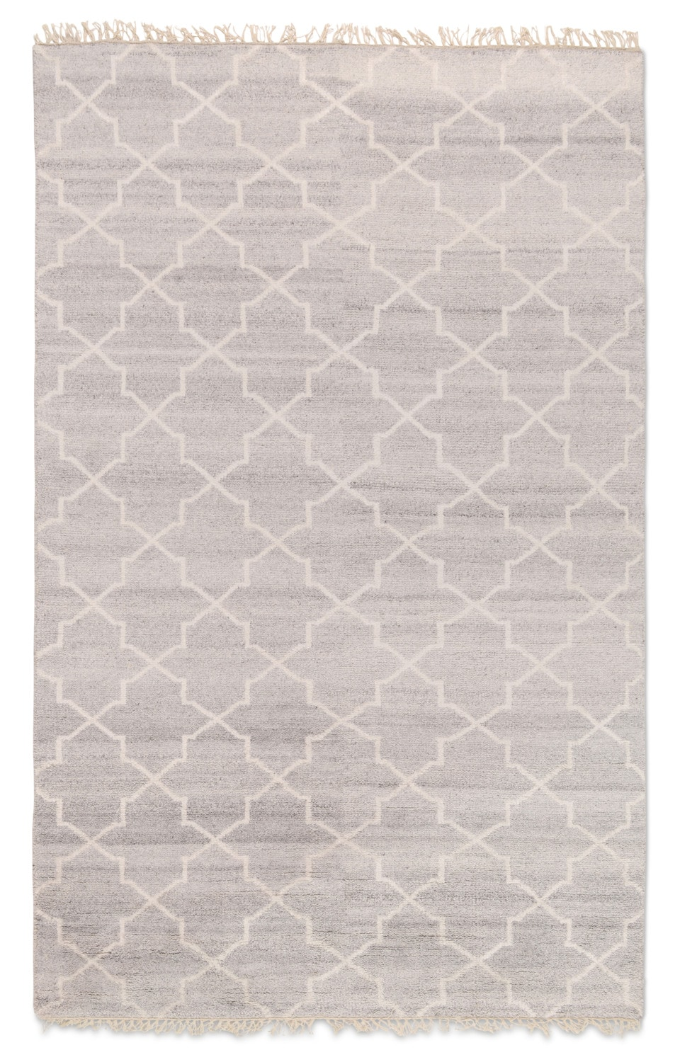 Rugs - Tile 8' x 10' Area Rug - Silver