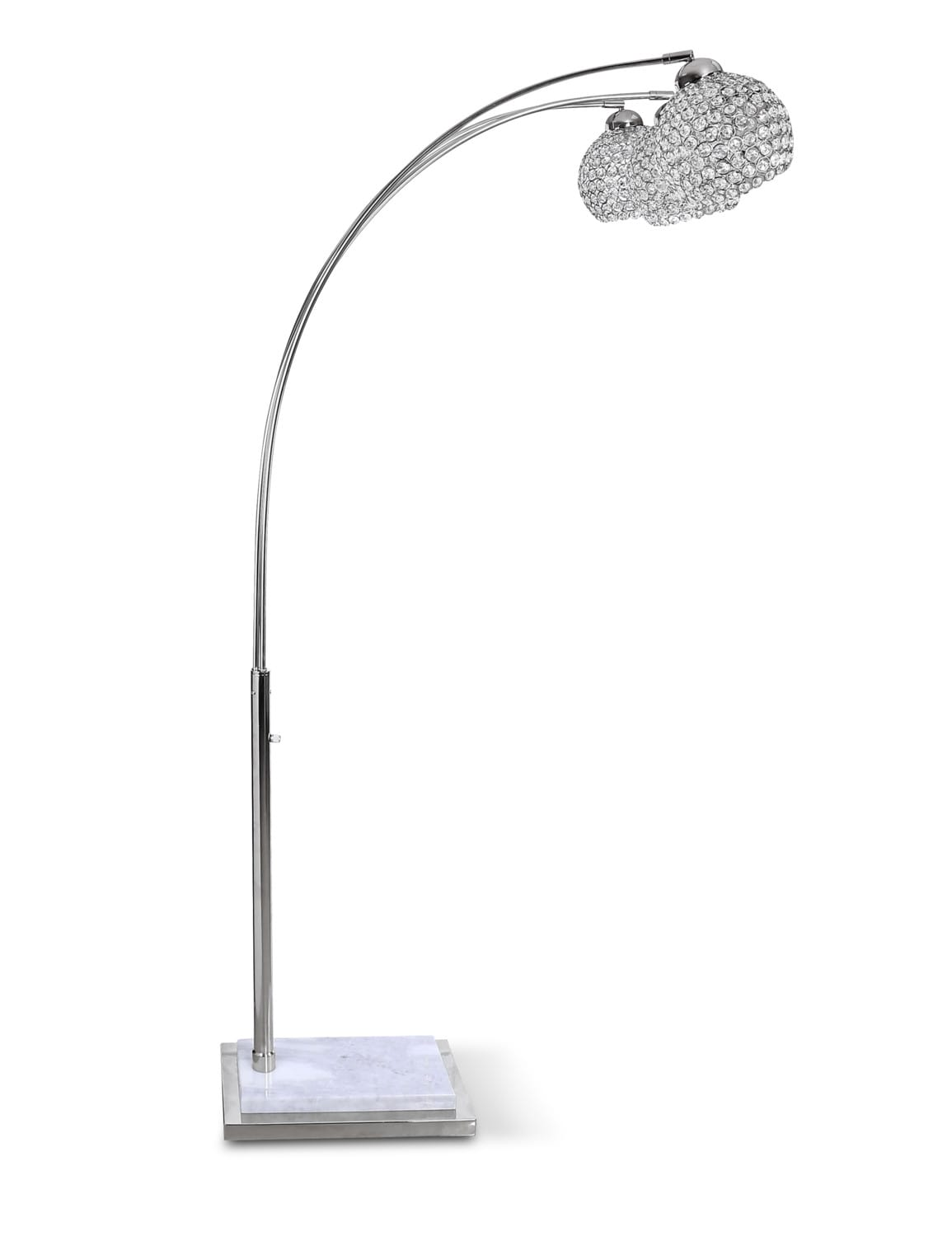 separation shoes 3522f 1cba3 Arc Floor Lamp - Crystal
