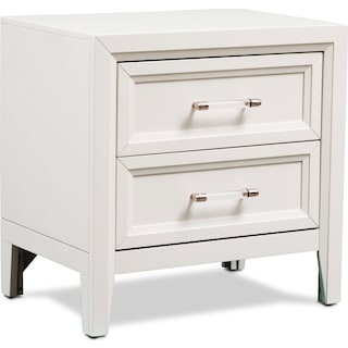 Charlie Nightstand - White