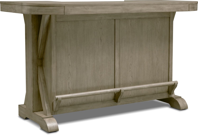 Dining Room Furniture - Maxton Bar - Graystone