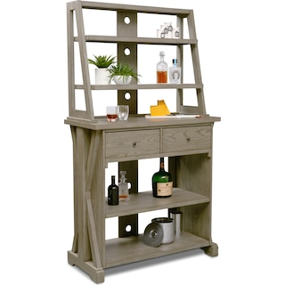 Maxton Media Hutch - Graystone