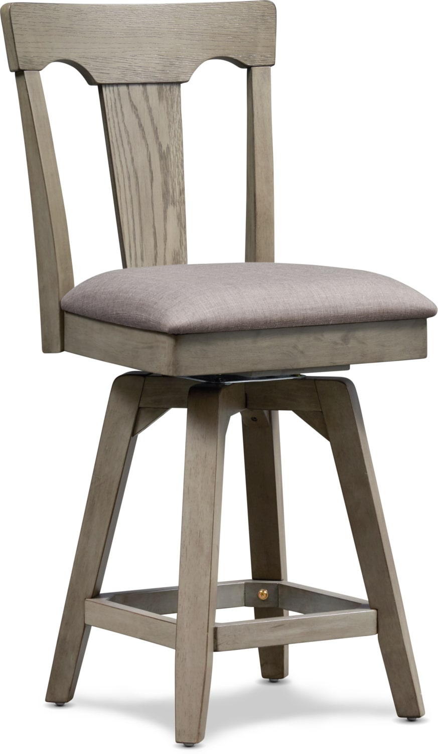 Dining Room Furniture - Maxton Counter-Height Stool - Graystone