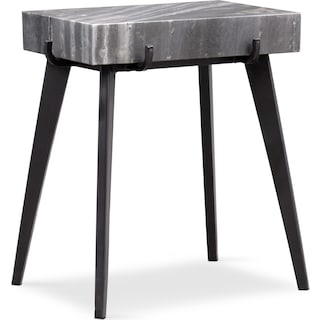Mod Marble Accent Table