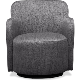 Garcia Swivel Chair - Gray