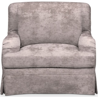 Campbell Comfort Chair - Cement