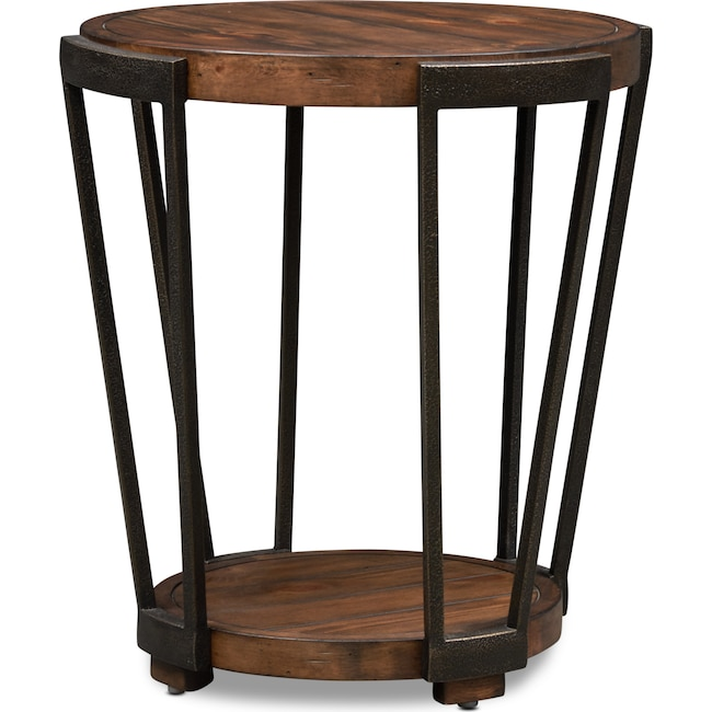 Accent and Occasional Furniture - Ocala End Table - Pine