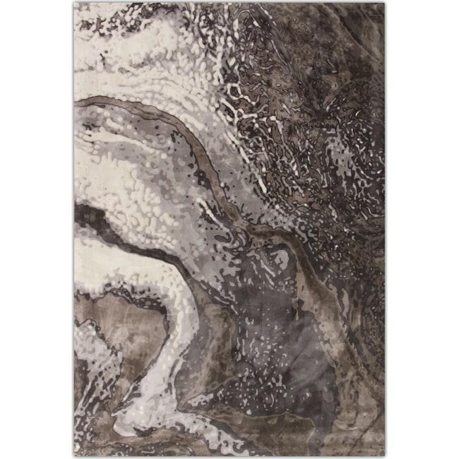 Rugs - Titanium Area Rug - Gray