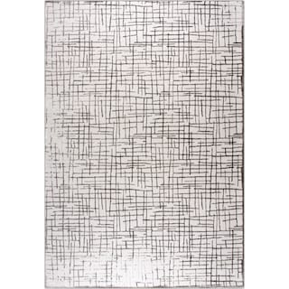 Karen 5' x 8' Area Rug - Gray