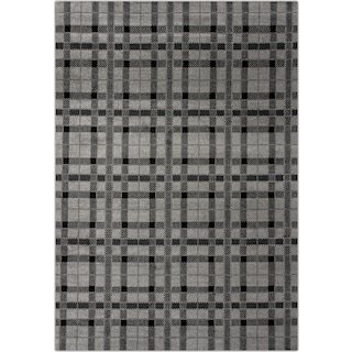 Twist 7' x 10' Area Rug - Gray