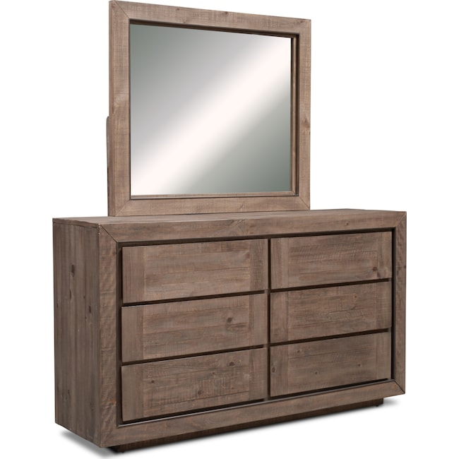 Bedroom Furniture - Henry Dresser and Mirror