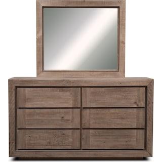 Henry Dresser and Mirror