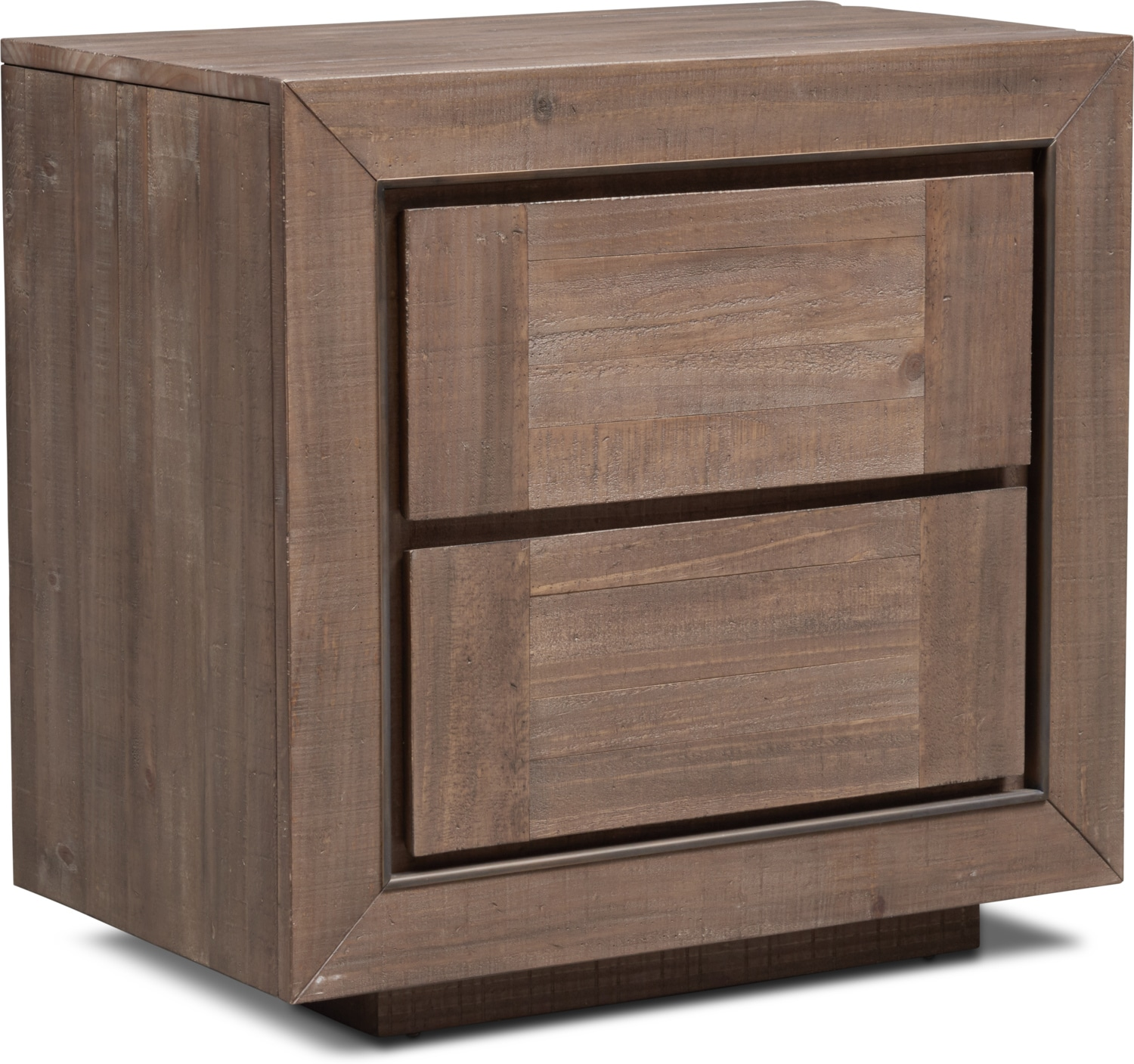 Bedroom Furniture - Henry Nightstand - Rustic Brown