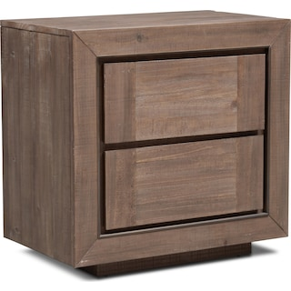 Henry Nightstand - Rustic Brown