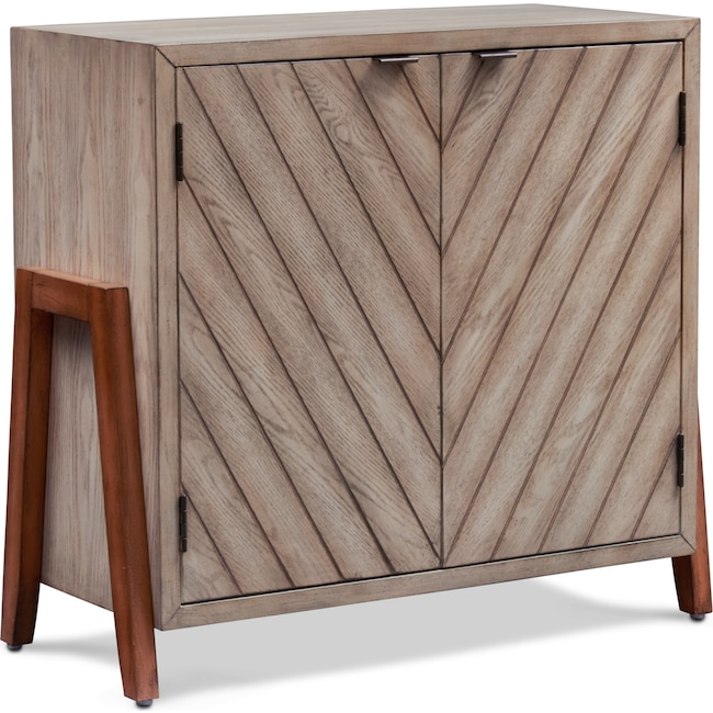 Accent and Occasional Furniture - Eli Cabinet - Ivory