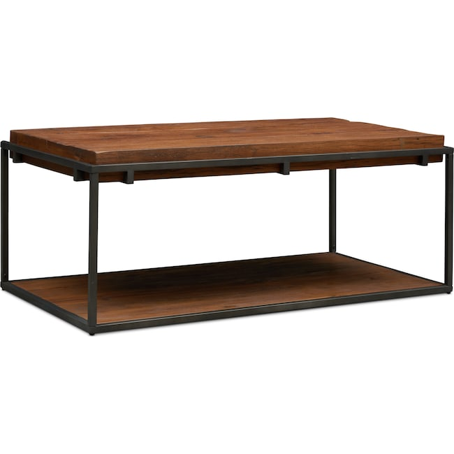 Accent and Occasional Furniture - Woodford Coffee Table - Dark Brown