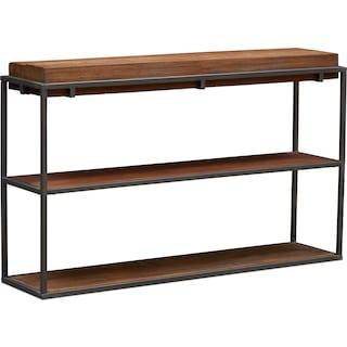 Woodford Sofa Table - Dark Brown