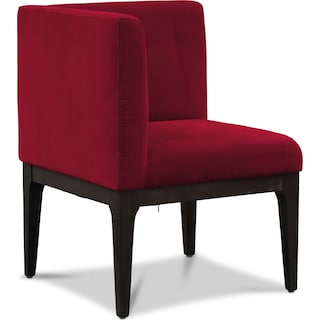 Artemis Corner Chair - Burgundy