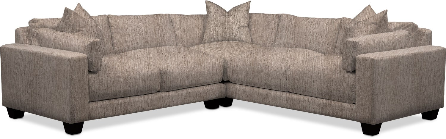 Living Room Furniture - Kiley 2-Piece Sectional
