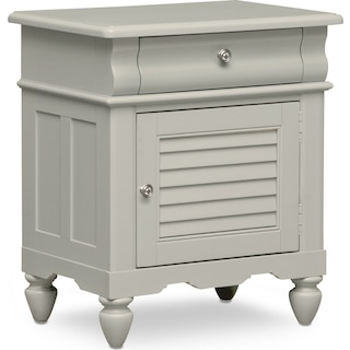 Seaside Nightstand - Gray