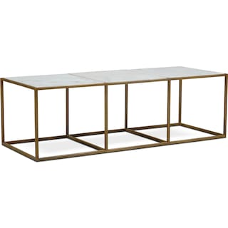Evie Coffee Table - Marble
