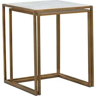 f42ccc9463a86 Tap to change Evie Nesting End Tables - Marble ...