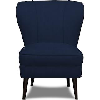 Gwen Accent Chair - Oakley III Ink