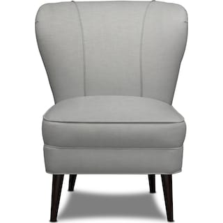 Gwen Accent Chair - Dudley Gray