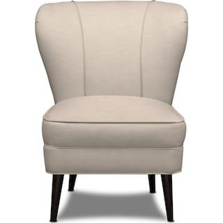 Gwen Accent Chair - Dudley Buff