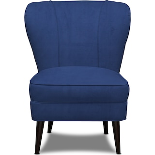 Gwen Accent Chair - Abington TW Indigo