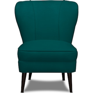 Gwen Accent Chair - Toscana Peacock
