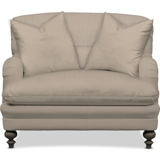Winnie Chair and a Half - Depalma Taupe